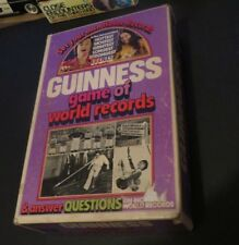 VINTAGE 1975 PARKER BROTHERS GUINESS GAME OF WORLD RECORDS QUESTIONS GAME