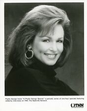 PHYLLIS GEORGE PRETTY SMILING PORTRAIT PHYLLIS GEORGE SPECIAL 1986 TNN TV PHOTO