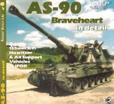 AS-90 Braveheart in Detail - British 155mm SP Howitzer & All Support Vehicles...
