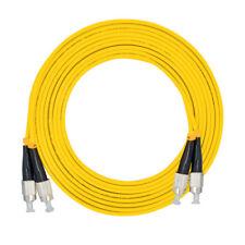2M,FC/PC to FC/PC,Duplex,SingleMode,Optical Fiber Cable Patch Cord FC-FC Jumper