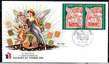 FRANCE FDC - 1998 7 JOURNEE DU TIMBRE - 3136A - LYON