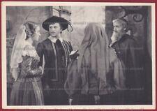 I PROMESSI SPOSI 04 FILM 1941 CINEMA MOVIE - LUX - CAMERINI - MANZONI Cartolina