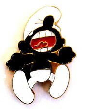 """Ballon pin/broches-schtroumpf/smurf """"la colère de schtroumpf""""/© peyo [3940]"""