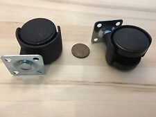 2 Pieces Small Swivel Caster Wheel robot platform office chair 30mm C22