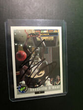 New listing Autographed Shaquille O'Neal Signed card Certified COA 1992 Classic Draft Picks