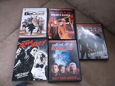 Action Thriller Crime Lot Of 5 Dvd Movies :Be Cool,Ocean'S 11,Sin City, Etc K&G
