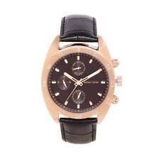 Ashton Carter Multi Function Gold / Black Watch - AC-1002-A - 2 Year MANUF WRNTY