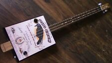 WEEKLYHOUSE CIGAR BOX GUITAR ACOUSTIC ELECTRIC 3 STRING  WATCH A VIDEO DEMO b