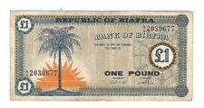 Biafra - One (1) Pound, 1967