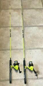 "Shakespeare Rod & Reel SP 46 F - 2M 4'6"" Fishing Pole Set of 2"