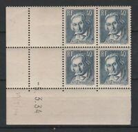 FRANCOBOLLI - 1934 FRANCIA C.40 JACQUARD MNH/MLH E/2285