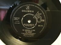 "The Seekers ‎– The Carnival Is Over - 7"" Vinyl Single 1965 - DB7711  -  REF.7285"