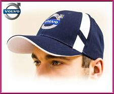 Volvo baseball Cap, unisex hat, Navy blue. Adjustable size with embroidered logo