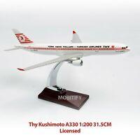 AIRBUS A330 1:200 Thy Kushimoto Licensed 31.5 CM DIECAST MODEL PLANE