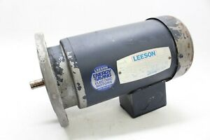 Leeson C42T17FZ2B 092044.00 1/2 HP Motor 1725/1425RPM, 3PH 208-230/460V USED