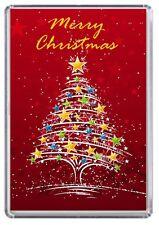 Merry Christmas Xmas Fridge Magnet 09