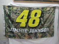Jimmie Johnson #48 REAL TREE 2 SIDED FLAG 3' X 5' NASCAR