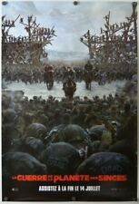 War for the Planet of the Apes - original DS movie poster - 27x40 D/S Style C FR