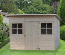 BOX CASETTA IN DI LEGNO 320x215 porta singola casette da giardino porta attrezzi
