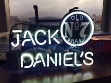 "JACK DANIEL'S Neon Sign Light Handmade Real Glass Home Wall Poster Decor13""x7"""