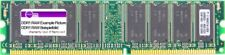 512MB MDT DDR1 RAM PC3200U 400MHz CL2.5 2Bank 256M Chip (32x8) DIMM M512-400-16
