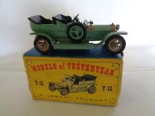 VINTAGE MATCHBOX ORIGINAL BOXED MATCHBOX CAR Rolls Royce SILVER GHOST Y-15