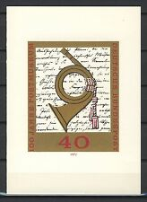 "BRD / Bund Sonderblatt "" Versandstellen 1972 "" m. Sonderstempel"