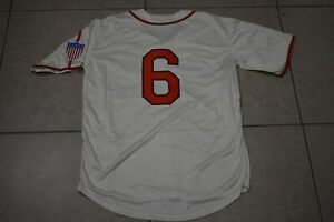 New! Stan MusialSt. Louis Cardinals Cream Vintage Baseball Jersey Adult Men's L
