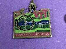 pins pin badge car peugeot vesoul vtt velo bike