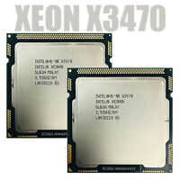 1PC Intel Xeon X3470 2.933 GHz Quad-Core CPU Processor 95W 8M LGA 1156 CPU RHNUS