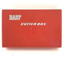 Vintage BASF Cutter Box Tape Splicer Magnetic Audio Tape Accessory