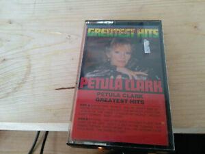 petula clark greatest hits - music tape cassette *778
