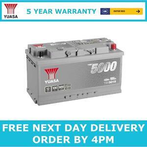 Yuasa YBX5019 Car Battery 12V Silver High Performance 5 Yr Warranty Type 019