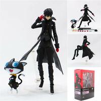 Persona 5 Joker & Morgana Figure P5 Akira Kurusu Figma 363 Collection Toy In Box