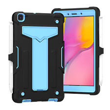 """For 2019 Samsung Galaxy Tab A 8"""" (T290/T295) Rugged Case w/ Built In Kickstand"""