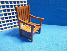 1/12 scale Dolls House Miniature Garden Chair  DHD 99814
