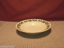 Baum Brothers China Formalities Holly Pattern Soup Bowl