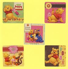 15 Winnie the Pooh Bear and Friends - Large Stickers - Party Favors