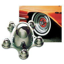 "Mooneyes spider caps hubcaps 5x4.75"" PCD bullet chevrolet HQ hot rod"