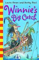 Winnie's Big Catch (Winnie the Witch) by Laura Owen, Good Used Book (Paperback)