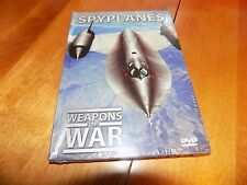 WEAPONS OF WAR SPYPLANES Cold War Air Force Aircraft Planes Military DVD NEW