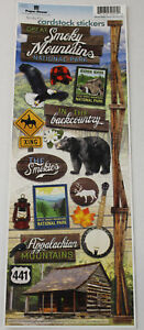 Paper House Cardstock Stickers Scrapbooking Travel Vacation City Fishing Hunting