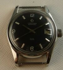 MEN'S VINTAGE AUTOMATIC CERTINA DS KURTH FRERES KF 25-651 ALL STEEL CASE 36 MM