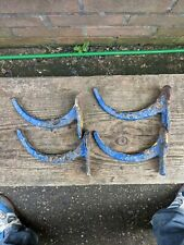 "Metal Gutter Bracket Fascia 4 1/2"" Cast Iron Guttering hooks hanging basket"
