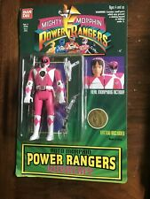 Bandai Mighty Morphin Power Rangers PINK Action Figure KIMBERLY 1994 NEW NOC