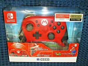Nintendo Switch Wireless Hori Pad Mario Version Super Smash Bros Ultimate JAPAN