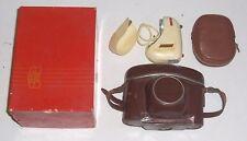 ZEISS IKON CONTINA RANGEFINDER 35MM CAMERA, PANTAR 45MM 2.8, FLASH & ORGINAL BOX