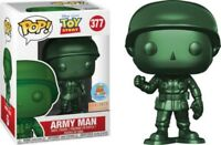 Exclusive Army Man Metallic Funko Pop Vinyl New in Mint Box + Stickers+Protector