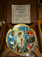 Star Trek Mirror Miror hamilton vintage collectors plate