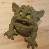 """SPLATT or SHLURP puppet BOGLIN toy VINTAGE seven towns 1987 VGC green eyes 9"""""""